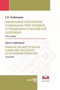 Рыбинцева Е.В. (2020) Финансовое обеспечение социальных прав человека и гражданина в Российской Федерации  / ISBN: 978-5-907063-58-7