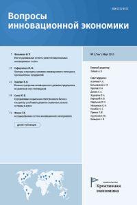 Журнал Вопросы инновационной экономики в списке Финансового университета