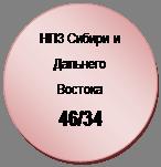 Блок-схема: узел: НПЗ Сибири и Дальнего Востока  46/34