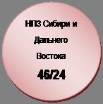 Блок-схема: узел: НПЗ Сибири и Дальнего Востока  46/24